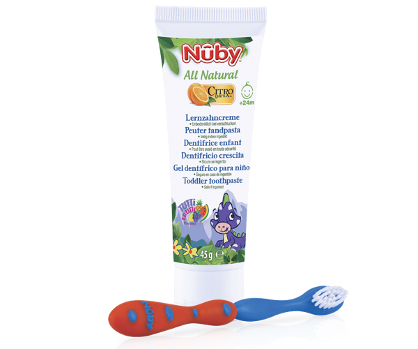 Toddler toothpaste + Toothbrush – 45g - 24m+